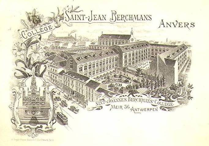 Sint Jan Berchmans college, begin 20ste eeuwe